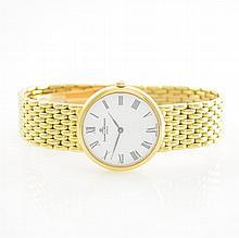 BAUMER & MERCIER 18k yellow gold ladies wristwatch
