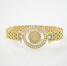 CHOPARD fine 18k yellow gold ladies wristwatch
