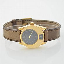 GIANNI BULGARI 18k yellow gold ladies wristwatch BiTime