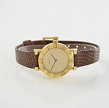 TIFFANY & Co. ladies wristwatch in 18k yellow gold