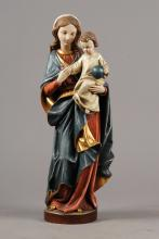 Large holy figure, 2.H.20.th C., Madonna and Child
