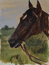 Otto Dill, 1884-1957, watercolor on paper,