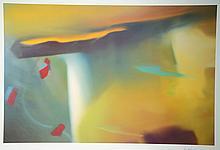 Gerhard Richter, born 1932 in Dresden, color offset,