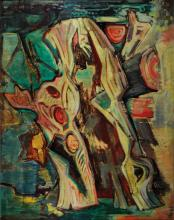 K. Heiduck o.s., dated 1966, still life, oil on canvas