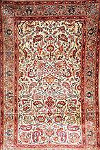 Silk Kashan (Signed), Persia, circa 50 years, pure silk