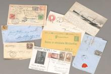 10 letters/Postbelege