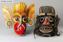 Bird mask, Bali in 1900/10