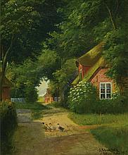 Julius Stockfleth, 1857-1935, View from Wyk auf Foehr