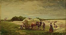 Max Kuglmayer, 1863-1930 Munich, hay, oil / canvas, signed