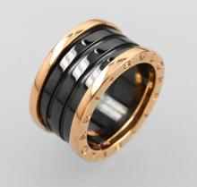 BULGARI ring 'Ceramic', RG 750/000