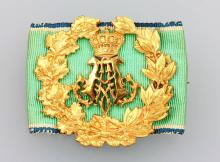 Medal pin from the property of a royal highness, german
