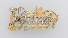 Brooch 'Helene', german ca. 1880/90