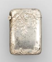 Art Nouveau silver matchstick case, France ca. 1900