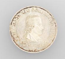 Silver coin, 5 Mark, Schiller