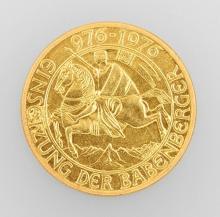 Gold coin, 100 Schilling, Austria, 1976