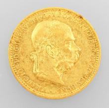 Gold coin, 20 kroner, Austria-Hungary, 1894