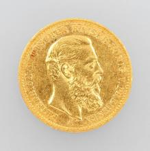 Gold coin, 20 Mark, Germany, 1888
