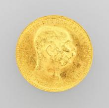 Gold coin, 20 kroner, Austria-Hungary, 1915