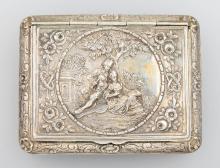 Silver case, german, Hanau 1900`s