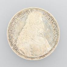 Silver coin, 5 Mark, Germany, 1955, Markgraf