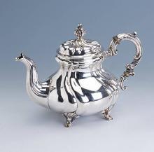 Silver Teapot, Bruckmann & Söhne, Heilbronn ca. 1930