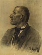 Lienz, charcoal drawing, dated May 1899,