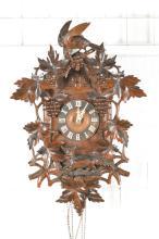 cuckoo clock with quail