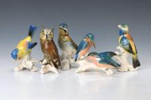 5 figurines, Ens Volkstedt