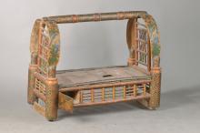 crib, ottoman