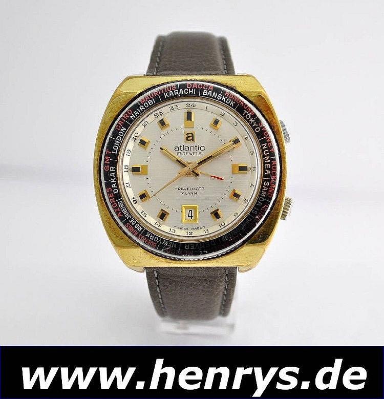 ATLANTIC Travelmate Armbandwecker, Schweiz um