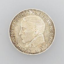 Silver coin, 5 DM, Germany, 1957