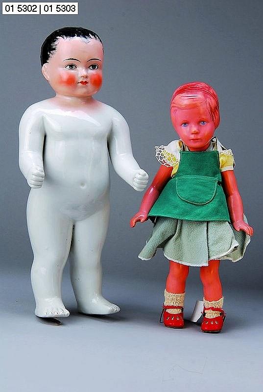 Schildkröt-Käthe-Kruse-Puppe Bärbel-Typ, um 1955,