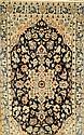 Nain alt, Persien, ca. 40 Jahre, Korkwolle mit