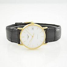 LONGINES 18k yellow gold gent's wristwatch Presence