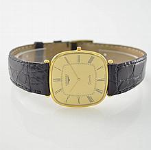 LONGINES 18k yellow gold gent's wristwatch