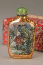 Snuff-Bottle, China, around 1900
