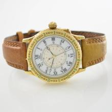 LONGINES Lindbergh Hour Angle Watch in 18k yellow gold