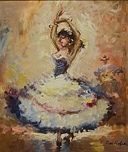 Max Hofer, whirling dancer,