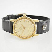 OMEGA self winding 14k yellow gold wristwatch Seamaster