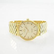 OMEGA Seamaster De Ville 18k yellow gold wristwatch