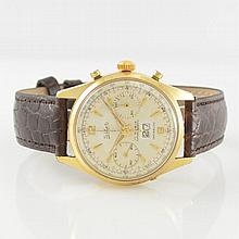 TOLLET gent's wristwatch with chronograph & big date