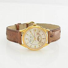 RICHARD gent's wristwatch with full calendar