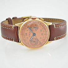 Chronograph in 18k pink gold