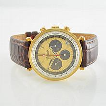 ZENITH rare 18k yellow gold intermediate wheel chronograph