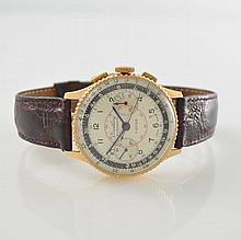 BREITLING 18k pink gold Chronomat gent's wristwatch