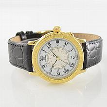LONGINES 18k yellow gold Hour Angle Watch