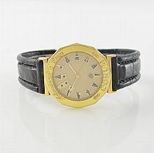 CORUM 18k yellow gold gent´s wristwatch Admiral´s Cup