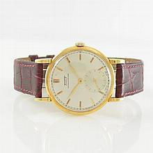 TISSOT 18k yellow gold gent's wristwatch Antimagnetique