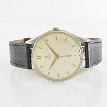 Omega gent's wristwatch in stainless steel