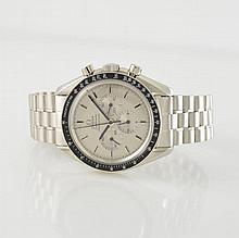 OMEGA fine & extremely rare 18k white gold chronograph